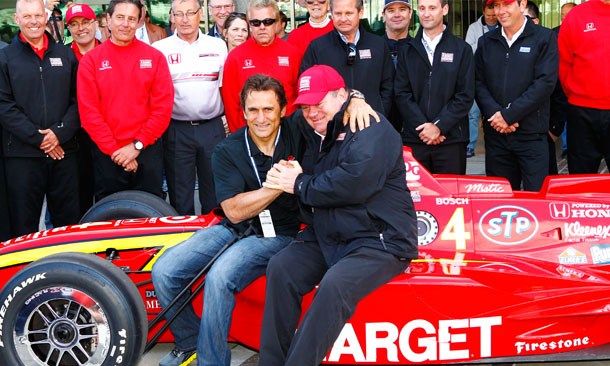 Alex Zanardi and Chip Ganassi