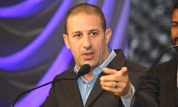 Tony Kanaan at Victory Banquet Celebration
