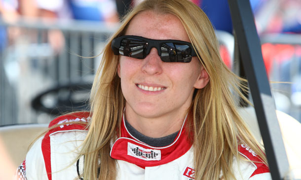 Pippa Mann to drive at Texas