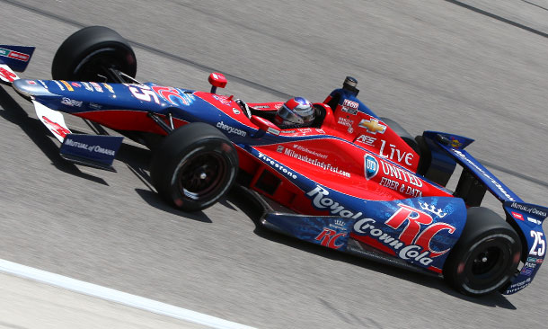 Marco Andretti at Texas Motor Speedway