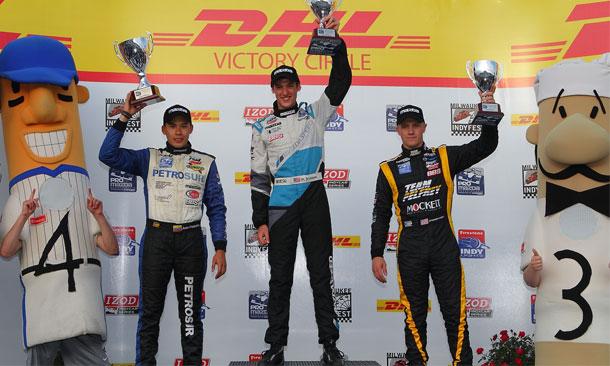 Matthew Brabham wins at Milwaukee