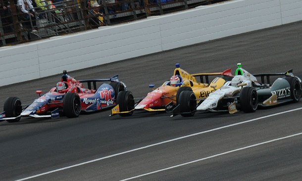 Front Row of the 2013 Indianapolis 500