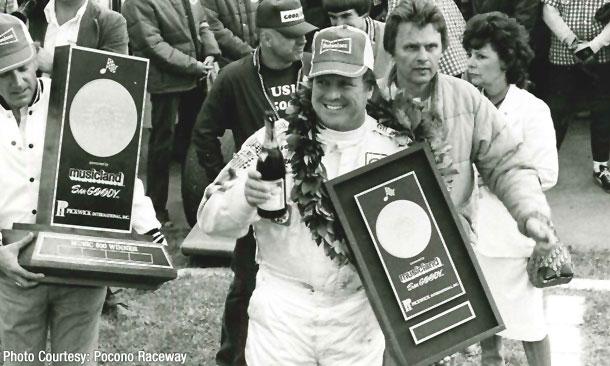 A.J. Foyt wins the 1979 Music 500 at Pocono Raceway