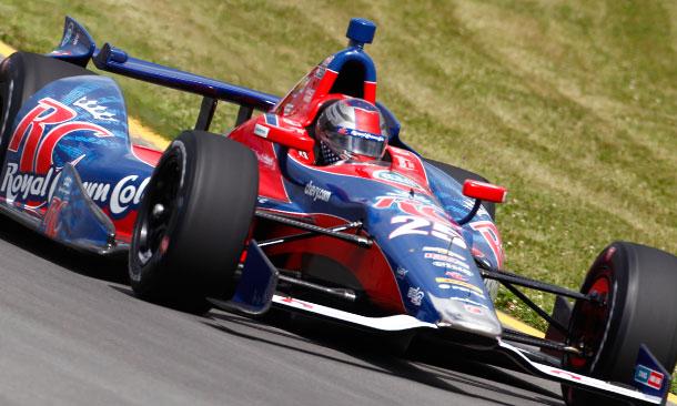 Marco Andretti at Pocono