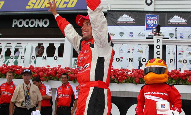 Carlos Munoz wins at Pocono