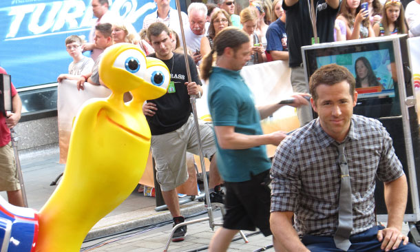 Ryan Reynolds and Turbo