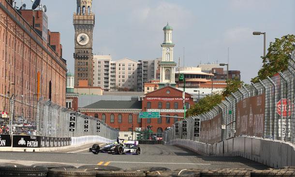 Track Activity at Baltimore - Tony Kanaan