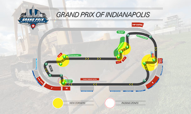 Grand Prix of Indianapolis Track Details
