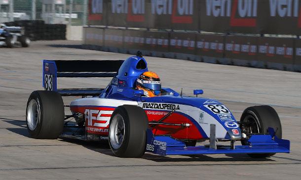 Matthew Brabham on course in Houston
