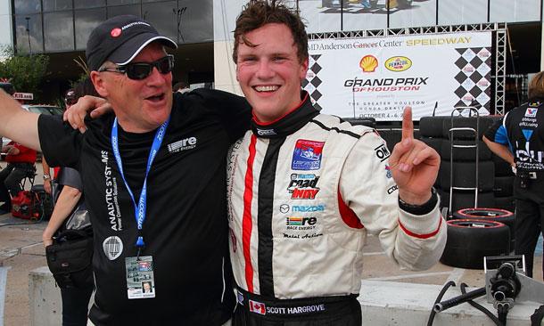 Scott Hargrove clinches 2013 USF2000 Championship