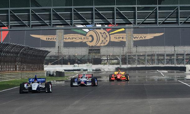 Hulman Boulevard at the Indianapolis Motor Speedway