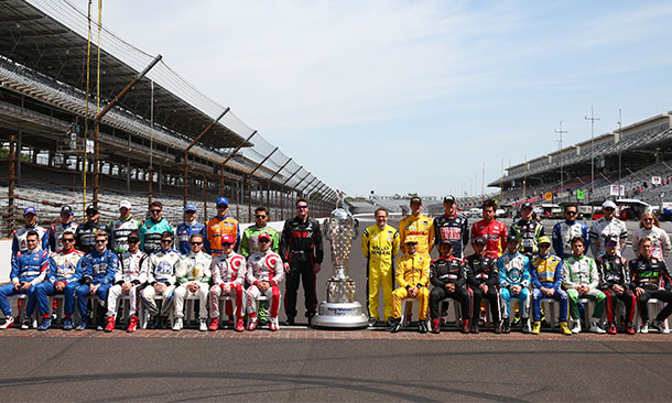 Drivers of the 2014 Indianapolis 500