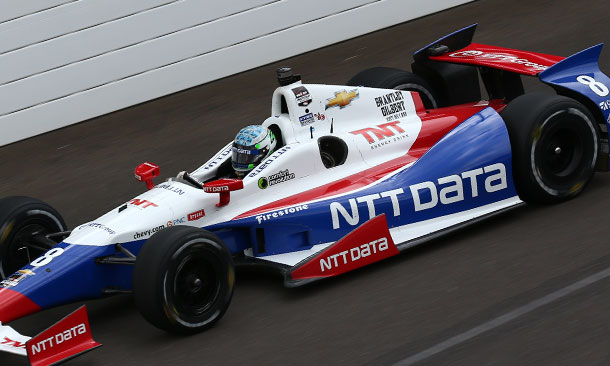 NTT Data and Ryan Briscoe