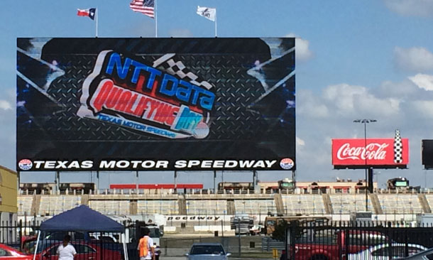 Big Hoss TV at Texas Motor Speedway