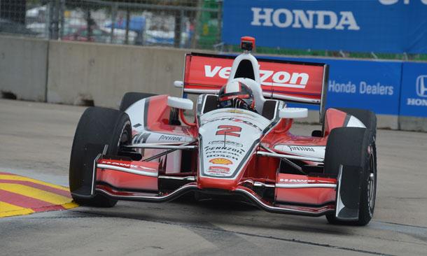 Montoya On Track Houston