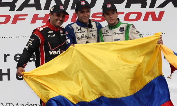 Houston Race 1 Podium
