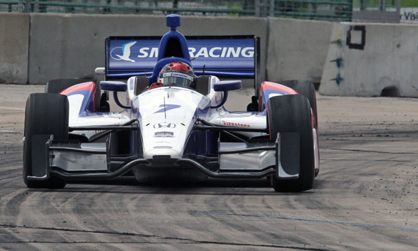Aleshin On Track Race