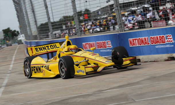 Castroneves On Track