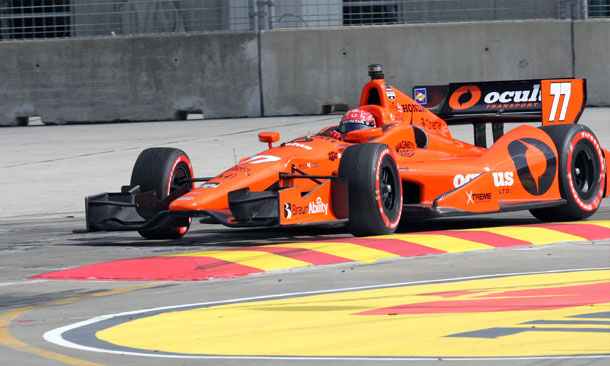 Pagenaud On Track