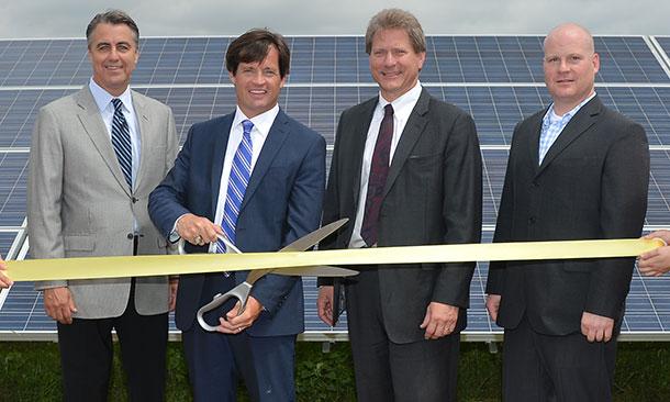IMS Solar Farm Opens
