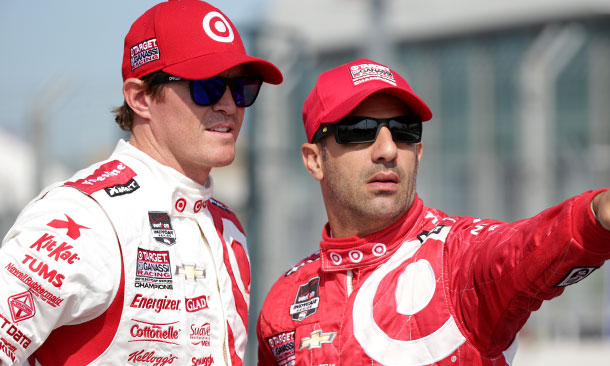 Scott Dixon and Tony Kanaan