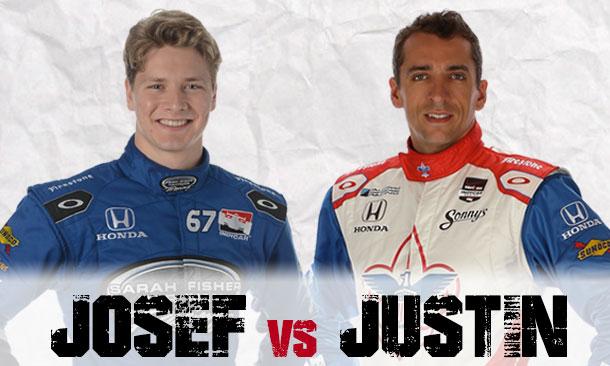 Josef Newgarden and Justin Wilson
