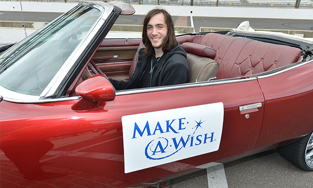 Make-A-Wish at IMS