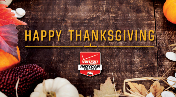 Happy Thanksgiving from INDYCAR