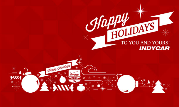 Happy Holidays from INDYCAR