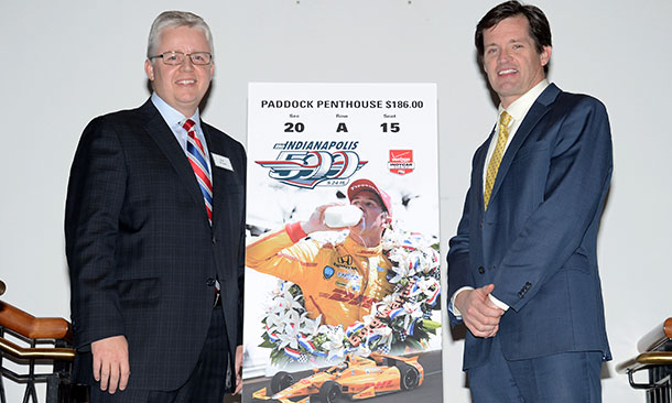 2015 Indianapolis 500 Ticket