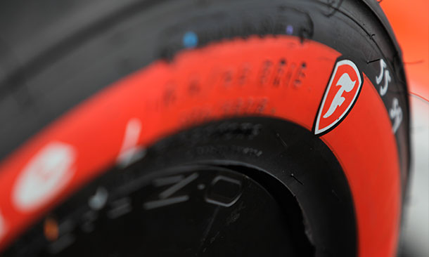 Firestone Alternate Red Tires