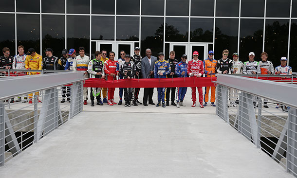 Bridge Ribbon Cutting at Barber Motorsports Park