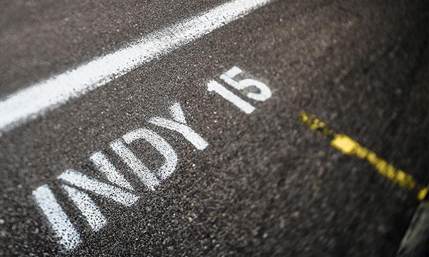 Indianapolis Motor Speedway Pit Lane