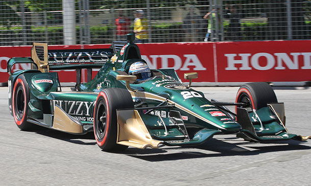 Official Results for the Honda Indy Toronto