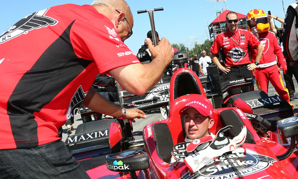 Graham Rahal and Bobby Rahal