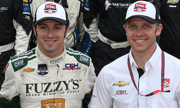 Luca Filippi and Ed Carpenter