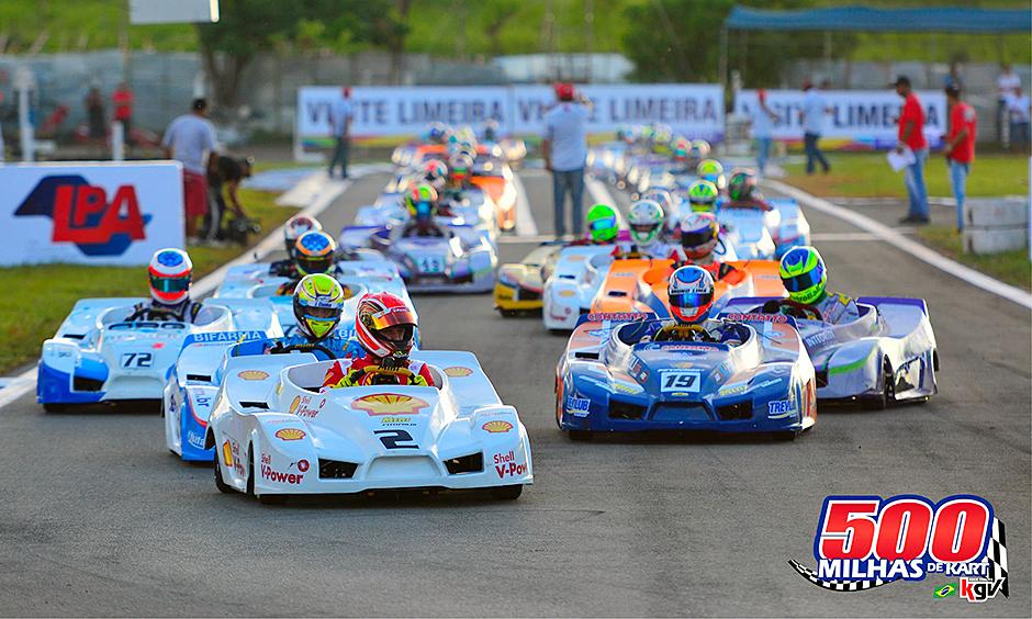 Granja Viana kart race