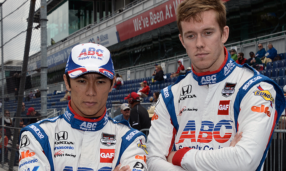 Takuma Sato and Jack Hawksworth