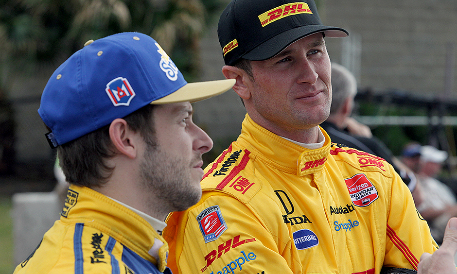 Ryan Hunter-Reay and Marco Andretti