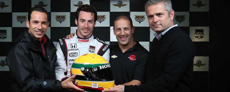 Notes: Pagenaud auctions Senna tribute helmet