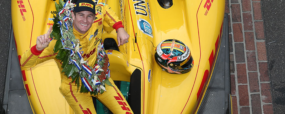 Hunter-Reay earns Driver of Year quarterly award