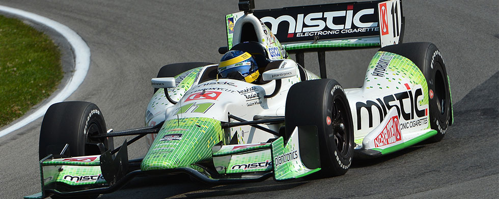 Bourdais quickest in p.m.; Hunter-Reay is overall