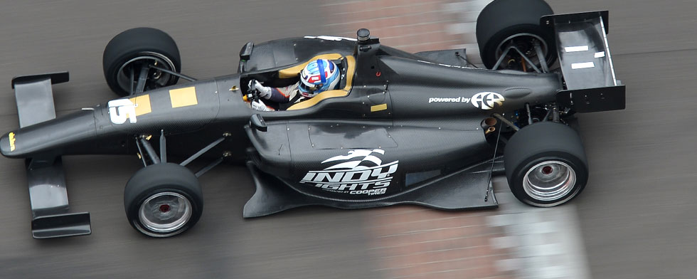 New Indy Lights car combines form, function