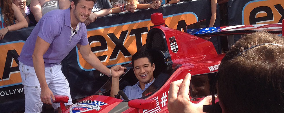 Notes: Andretti hangs with another Mario
