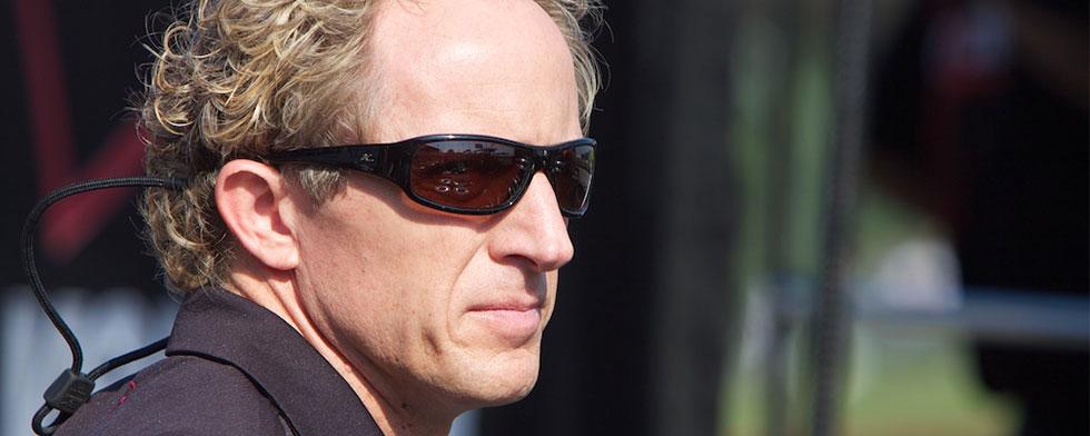 Broadcaster, racer Beekhuis in steward role