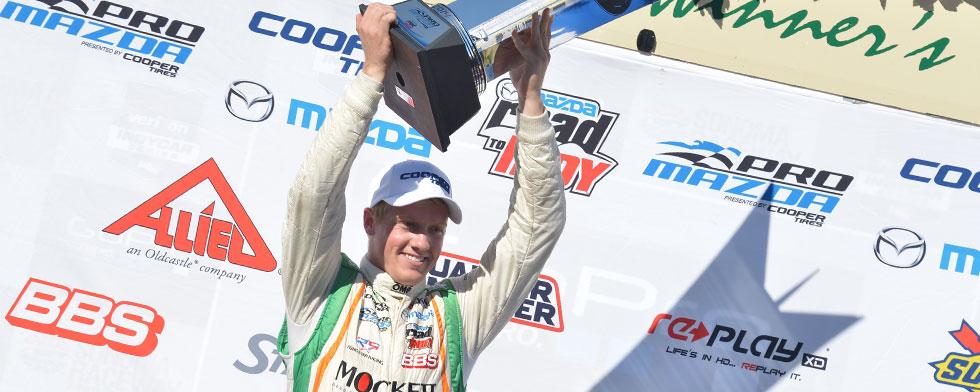 Pigot claims Pro Mazda title in wild finale