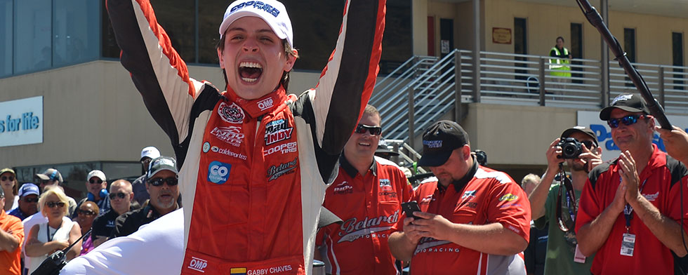 Chaves earns Indy Lights title on tiebreaker