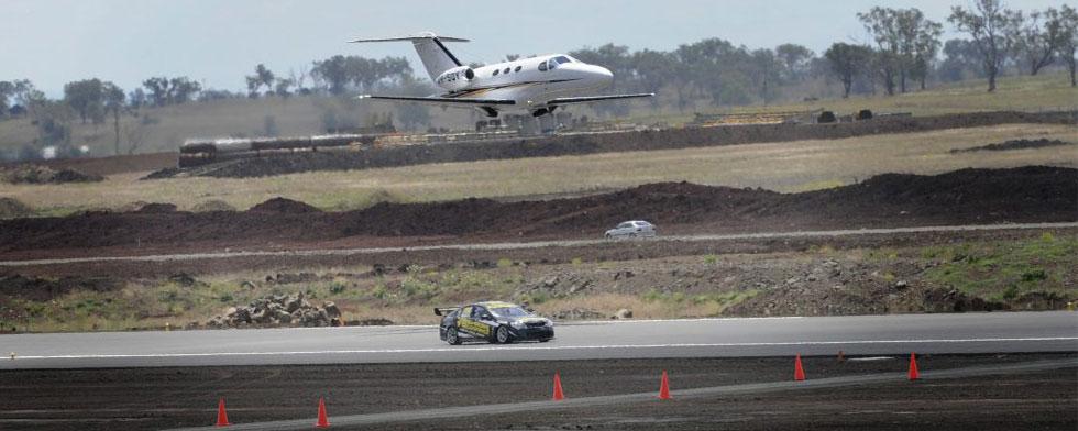 Power splits runway series with jet in Australia