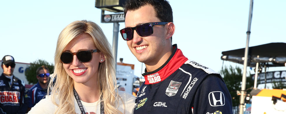 Rahal, Force announce their engagement