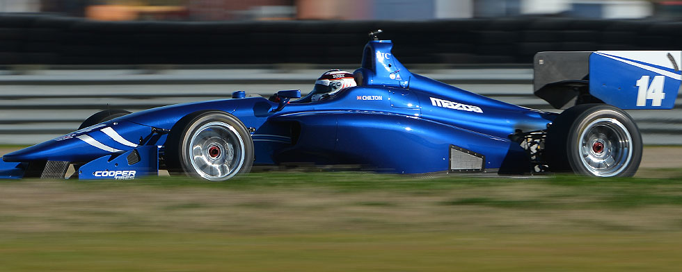 Chilton sets quick pace in Indy Lights NOLA test